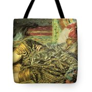 Woman Of Algiers Tote Bag