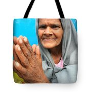 Woman Of India Tote Bag