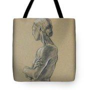Woman Standing Tote Bag