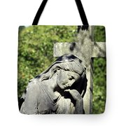 Woman With Cross Cave Hill Cemetery Louisville Kentucky Usa Tote Bag