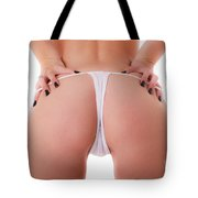 Woman's Backside Tote Bag