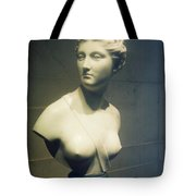 Womans Bust Tote Bag