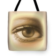 Womans Eye Tote Bag