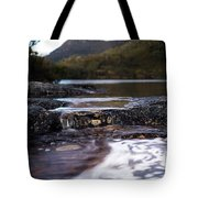 Wombat Pool Lake Spills Into A Small Tote Bag