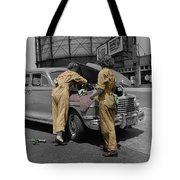 Women Auto Mechanics Tote Bag
