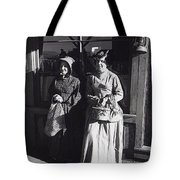 Women  Extras In Old West Costumes Dirty Dingus Magee Set Mescal Arizona 1970 Tote Bag