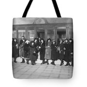 Women In A Bank Tote Bag