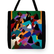 Women Lifting Their Voices Tote Bag