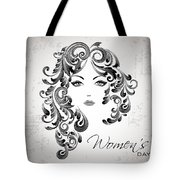 Women's Day Usa Tote Bag