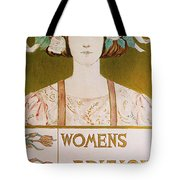 Womens Edition Buffalo Courier Tote Bag