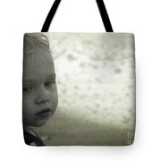 Wonder In Black And White Tote Bag