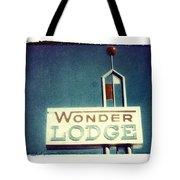 Wonder Lodge Tote Bag