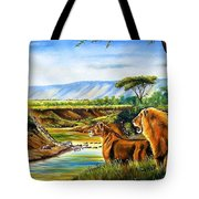 Wonder Of The Great Migration Tote Bag