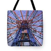 Wonder Wheel 2013 - Coney Island - Brooklyn - New York Tote Bag