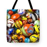 Wonderful Marbles Tote Bag
