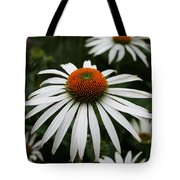 Wonderful White Cone Flower Tote Bag