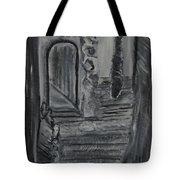 Wondering Halls Tote Bag