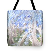 Wondering Through Trees Tote Bag