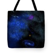 Wonders Of The Universe Mural Tote Bag