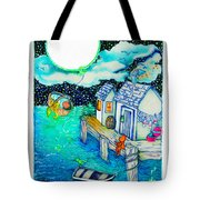 Woobies Character Baby Art Colorful Whimsical Design By Romi Neilson Tote Bag