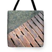 Wood And Sea Tote Bag
