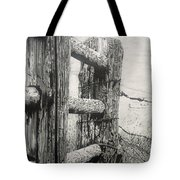 Wood And Wire Tote Bag