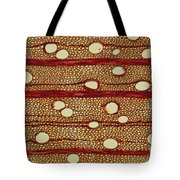 Wood Cross Section Tote Bag
