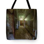 Wood Door Ward Tote Bag