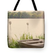 Wood Duck Boxes Tote Bag