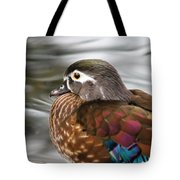 Wood Duck Hen Tote Bag