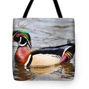 Wood Duck Profile Tote Bag