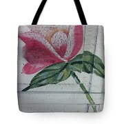 Wood Flower Tote Bag
