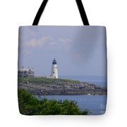 Wood Island Lighthouse Tote Bag