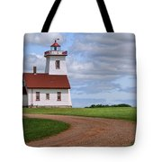 Wood Islands Lighthouse - Pei Tote Bag