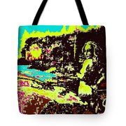 Wood Nymph In Glaring Daylight Tote Bag