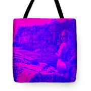 Wood Nymph In Pink And Blue Tote Bag