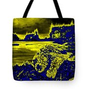 Wood Nymph In The Glow Of The Sunset Tote Bag