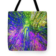 Wood Nymph With Her Magic Of Colours Tote Bag