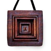 Wood Panel Tote Bag