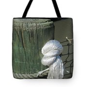 Wood Post Tote Bag by Nelson Watkins