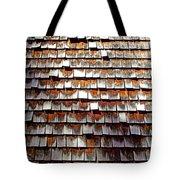 Wood Roof Shingles Tote Bag