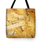 Wood Splinters Background Tote Bag