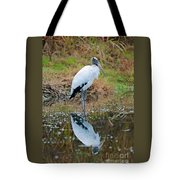 Wood Stork  Tote Bag
