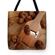 Wood Truffle Slicer Tote Bag