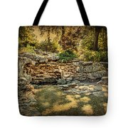 Woodard Park Koi Pond Tote Bag by Tamyra Ayles