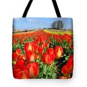 Woodburn Tulip Fields Tote Bag