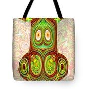 Woodcraft Ghosts Spirits Indian Native Aboriginal Masks Motif Symbol Emblem Ethnic Rituals Display H Tote Bag