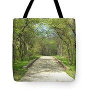 Walking In The Park Tote Bag