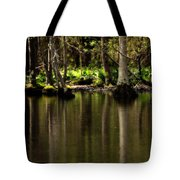 Wooded Reflection Tote Bag