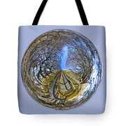 Wooden Bridge Orb Tote Bag